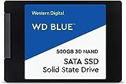 WD 内置SSD 2.5英寸 / 500GB / WD Blue 3D / SATA3.0 / WDS500G2B0A-EC