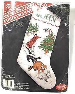 Banar 森林动物 16.5 英寸圣诞袜套装