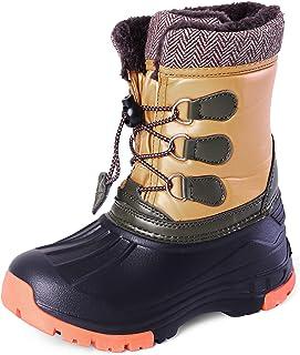 Nova 女童冬季雪地靴(尺码 6-11)