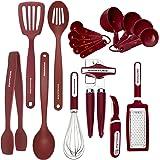 KitchenAid 凯膳怡 17-piece工具套装, Red