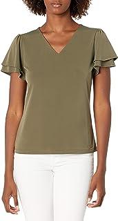 Calvin Klein 女士 短袖上衣