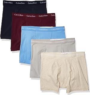 Calvin Klein 男士弹力棉平角内裤 多条装