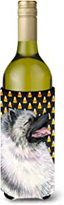 Keeshond Candy Corn Halloween Portrait Michelob Ultra Koozies for slim cans SS4282MUK 多色 750 ml