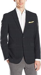 Perry Ellis 男式修身可机洗西装外套