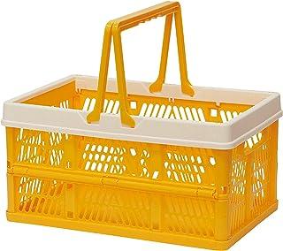 折叠 堆叠 容器盒 黄色 Medium 400729902