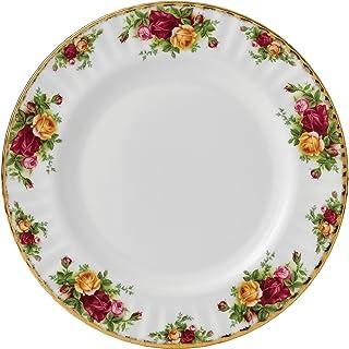 Royal Albert Old Country Roses 餐盘 27 厘米 骨瓷 多色 27 × 27 × 2.5 厘米