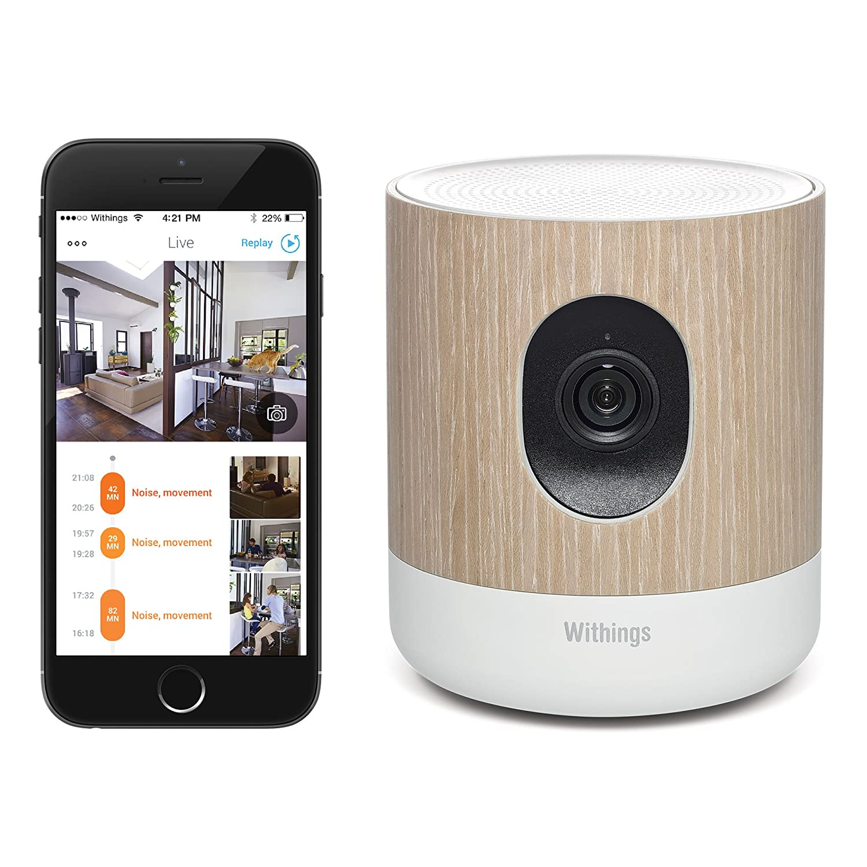 Withings智能家庭监控摄像头(含空气质量检测)