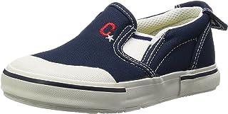 Carrot 懒人鞋 防溅水 4大功能 宽松 14-21厘米(有0.5厘米选项) 鞋宽2E 儿童 CR ST14 藏青色 18.5 cm 2E