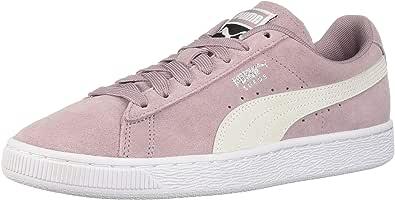 PUMA 彪马 女士 麂皮经典运动鞋 Elderberry-puma White 6.5