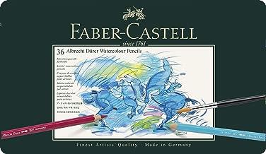 Faber-Castel FC117536 Albrecht Durer 藝術家水彩鉛筆,金屬錫(36 個裝),各色