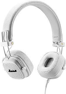 Marshall 馬歇爾 Major III 折疊式耳機,白色