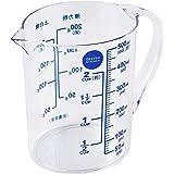 Delish 厨房大珍珠金属耐热量杯带刻度500ml *蓝 13.5×11.5×8.5cm