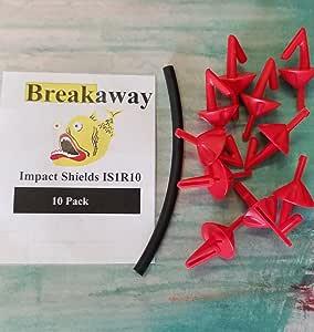 Breakaway Impact Shields 红色 10 件装