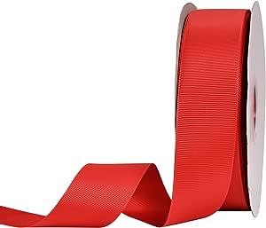 YAMA 罗缎织物丝带 - 3.81 cm 50 码礼品包装、花卉设计、发夹 夹、工艺、缝纫、婚礼装饰、男孩女孩婴儿派对用品