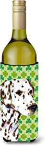 Dalmatian St. Patrick's Day Shamrock Portrait Michelob Ultra Koozies for slim cans SS4400MUK 多色 750 ml