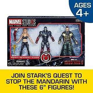 Marvel Studios:The First Ten Years Iron Man 3 Pepper Potts,钢铁侠Mark XXII,和 Mandarin(亚马逊)