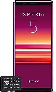 Sony Xperia 5 Bundle 覆盖 多种颜色1320-4792 mit SD-Karte 红色