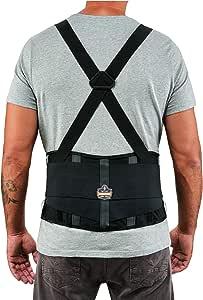 Ergodyne ProFlex 高性能背部支撑带,黑色 中 2000SF
