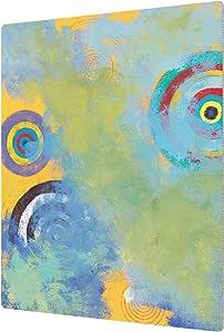 "ArtWall Jan Weiss's Circles Aluminum Print, 14"" x 18"""