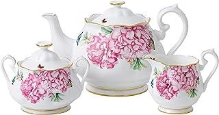 Royal Albert Friendship系列 茶壶糖壶奶壶套装 米兰达·可儿设计