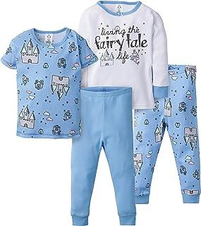 GERBER 女嬰 4 件套睡衣套裝