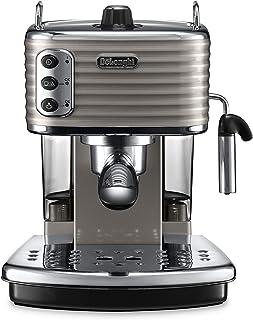 De'Longhi 德龙 Scultura ECZ351BG 复古半自动泵压式意式咖啡机 ECO节能模式/2个独立恒温器(水温,蒸汽温度)/1.4L 水箱/卡布奇诺系统