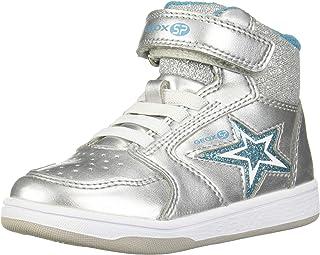 Geox 儿童 Maltin Girl 14 Sp 高帮魔术贴运动鞋