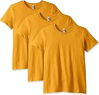 Marky G Apparel 女式男友 T 恤(3 件装) 古铜金(Antique Gold) Small