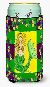 Mardi Gras Mermaid Michelob Ultra Koozies for slim cans 8036MUK 多色 Tall Boy