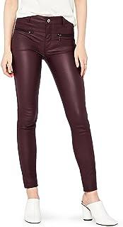 FIND 女式 PU 涂层长裤