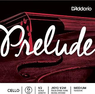 D'Addario 达达里奥 Prelude 中等张力 1/2 大提琴 G 弦单弦 J1013 1/2M