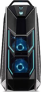 Predator Orion 9000 (PO9-600) 游戏台式电脑(英特尔酷睿 i9-9900K,16 GB RAM,1024 GB SSD,NVIDIA GeForce RTX 2080(8 GB GDDR6),Windows 10 家庭版)黑色/蓝色