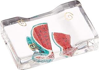 夏季风物诗 清凉筷架 方形(带化妆盒)5个装 [2.5x4.0x1.0cm] 纳凉 室内装饰 可爱 凉爽 夏天 nmg-s23-719a
