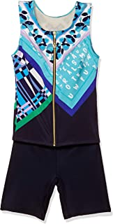 Wacoal 华歌尔 泳衣 全形遮瑕 带拉链分体式 SWS217 女士