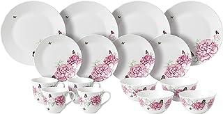 Royal Albert 米兰达·克尔伯特 16件餐盘/谷物碗/马克杯套装,陶瓷,多色,30 x 29.7 x 30.5厘米