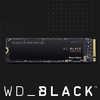 WD Black SN750 NVMe 内置游戏 - Gen3 PCIe,M.2 2280,3D NAND - WDS250G3X0CWDS200T3X0C  SSD 2TB