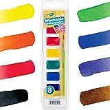 Crayola 可洗水彩,8 支装 (53-0525) 8 ct 多种颜色