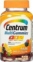 Centrum 善存 MultiGummies 复合维生素/多种矿物质 营养补充软糖(150粒,天然樱桃,浆果,橙子味)