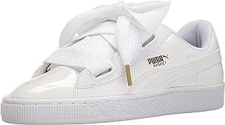 PUMA 彪马 女式 Basket Heart Patent 运动鞋