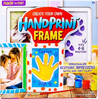 Made By Me Handprint Frame by USA Horizon Group