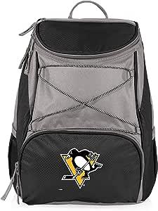 PICNIC TIME NHL Pittsburgh Penguins PTX 绝缘背包冷却器,黑色