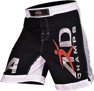 ARD Extreme MMA 格斗短裤 UFC Cage Fight Grappling Muay 泰拳击黑色