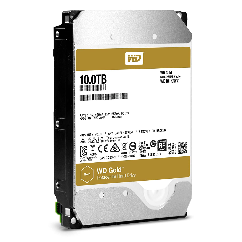 西部数据/WD 10TB 硬盘(金盘) WD101KRYZ!