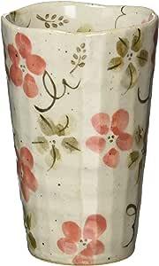 山下工艺(Yamasita craft) 红花免费杯 8×8×12.5cm 红色 31414-158