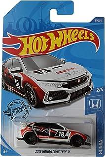 Hot Wheels 2018 Honda Civic Type R 81/250,白色