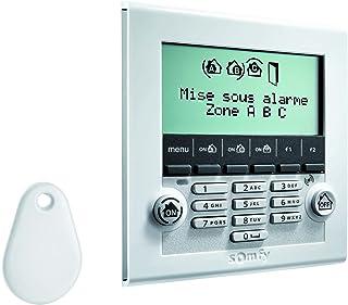 Somfy LCD 鍵盤,帶徽章閱讀器