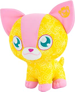 Doodle Bear 原版 6 英寸毛绒玩具,带 2 个可水洗马克笔 吉娃娃 黄色