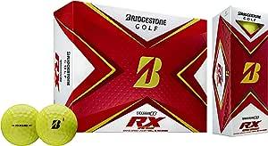 Bridgestone 2020 Tour B RX 高尔夫球 1 打黄色