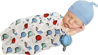 So Dorable 婴儿襁褓 蓝色和红色 Up to 10 lbs.