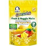 Gerber嘉宝Graduates热带水果蔬菜混合零食 1 盎司(28.35克) (7 包)